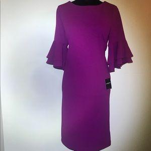 Liz Claiborne magenta dress